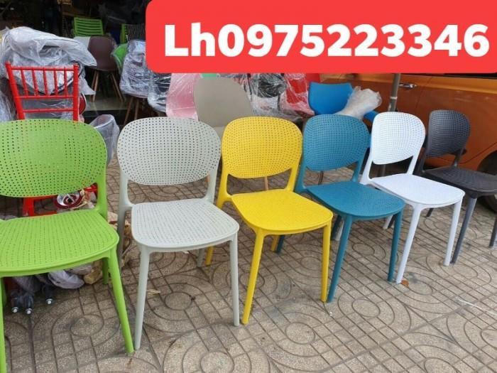 Ghế nhựa cafe thanh lý giá xả lô hàng Nội Thất Quang Đại TPHCM0