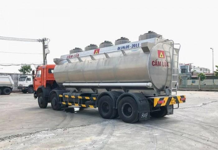 Xe bồn xăng dầu Kamaz 25m3 (Bồn Nhôm) | Xe bồn 25m34