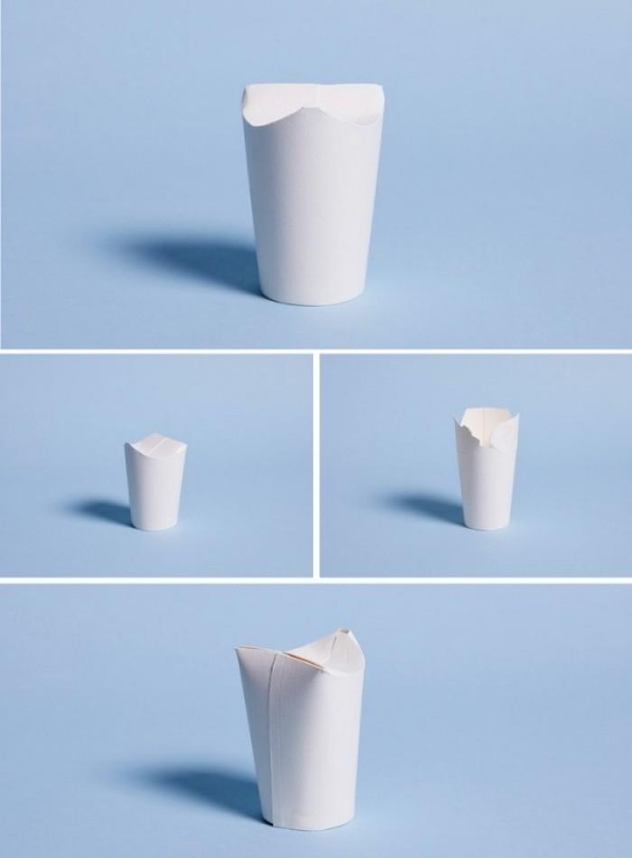 Cốc giấy C, cốc giấy Kraf in ấn logo, thân thiện môi trường2