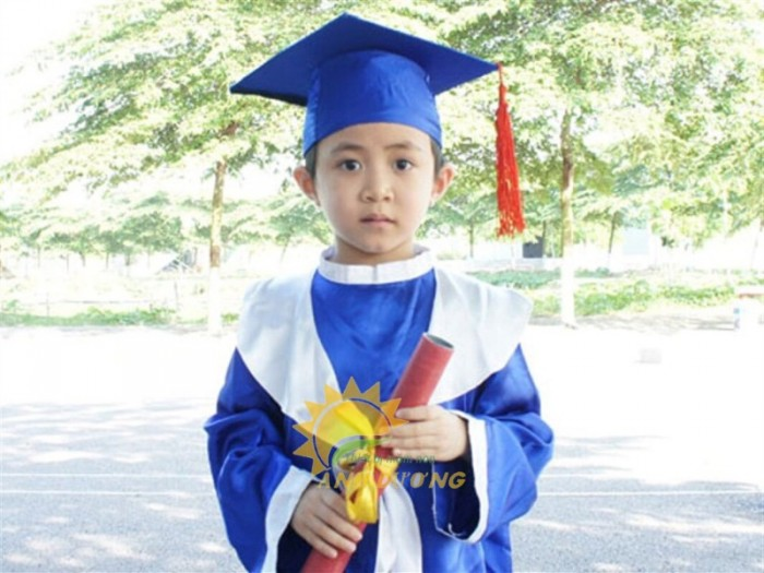 Cung cấp lễ phục tốt nghiệp cho trẻ em mầm non giá rẻ, chất lượng cao