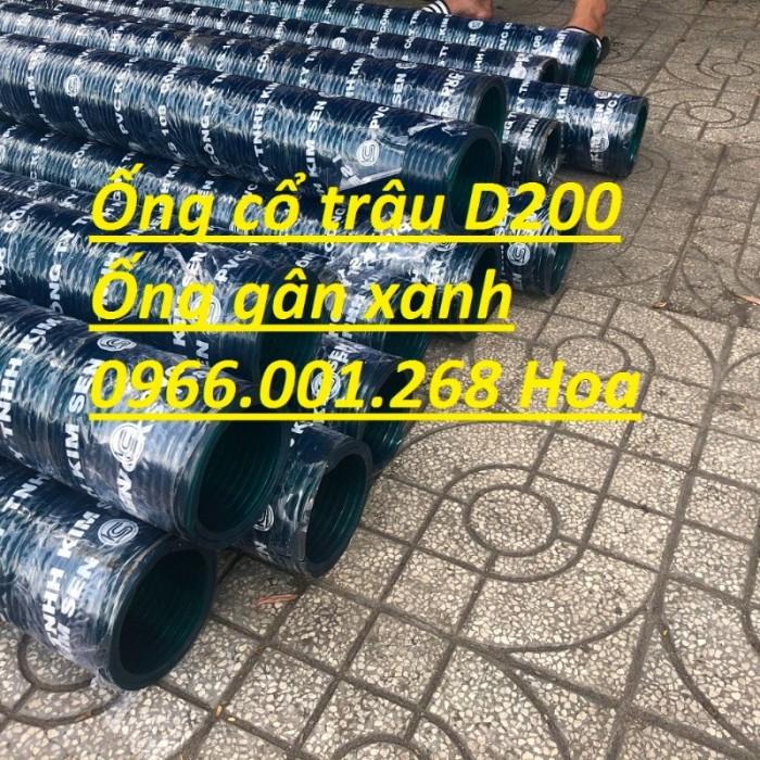Ống gân nhựa xanh ,ống cổ trâu các loại D90,D100,D114,D125,D150,D168,D2002