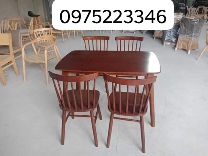 Bàn ghế cafe gỗ sơn P,U..2
