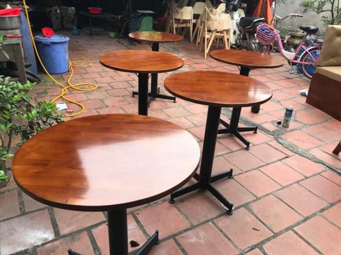 Bàn ghế cafe gỗ sơn P,U..3