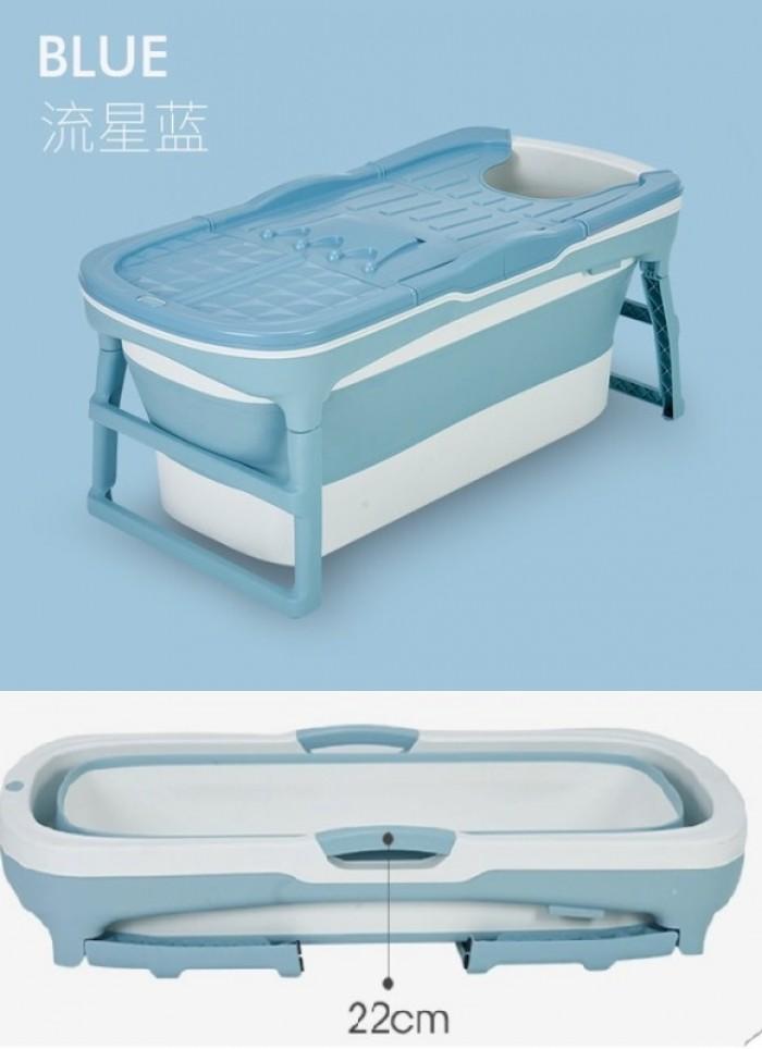 Bồn tắm gấp gọn khung nhựa. Bảo hành 9 tháng3