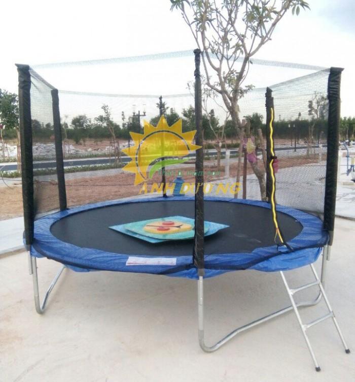 Thảm nhún nhảy lò xo trẻ em cho trường mầm non, khu vui chơi, TTTM, công viên