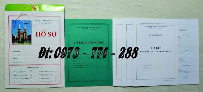 Hồ sơ cán bộ viên chức theo Thông tư số 07/2019/TT-BNV ngày 01/6/2019 của Bộ Nội vụ2