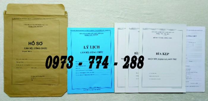 Hồ sơ cán bộ viên chức theo Thông tư số 07/2019/TT-BNV ngày 01/6/2019 của Bộ Nội vụ12