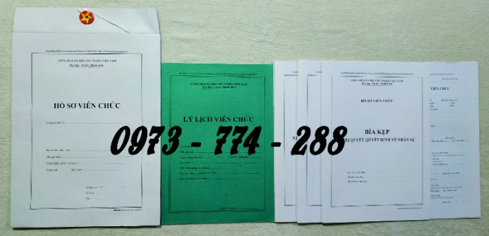 Biểu mẫu quản lý hồ sơ viên chức1
