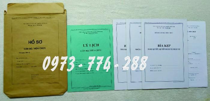 Biểu mẫu quản lý hồ sơ viên chức3