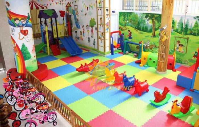 Cần bán thảm xốp nhiều màu sắc lót sàn cho trường mầm non, sân chơi, gia đình6