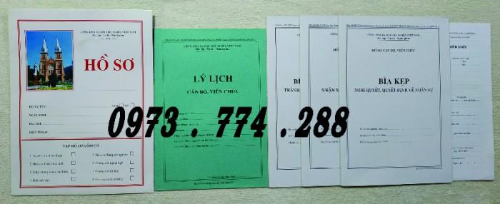 Bán hồ sơ công chức dùng cho cán bộ công chức8