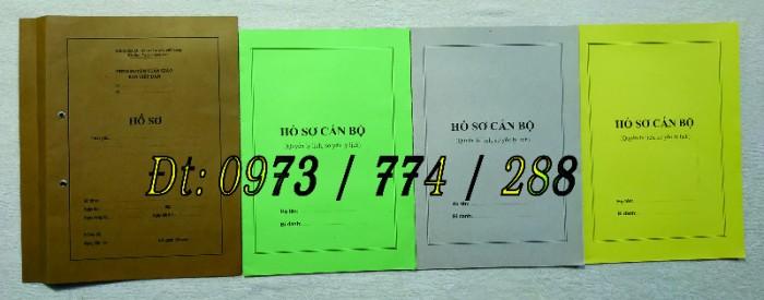 Bán hồ sơ công chức dùng cho cán bộ công chức18