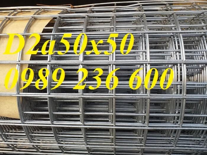 Lưới Thép Hàn D2 A 50X50 Khổ 1Mx30M, 1.2Mx30M. Hàng Có Sẵn Giá Rẻ Tại Hà Nội0