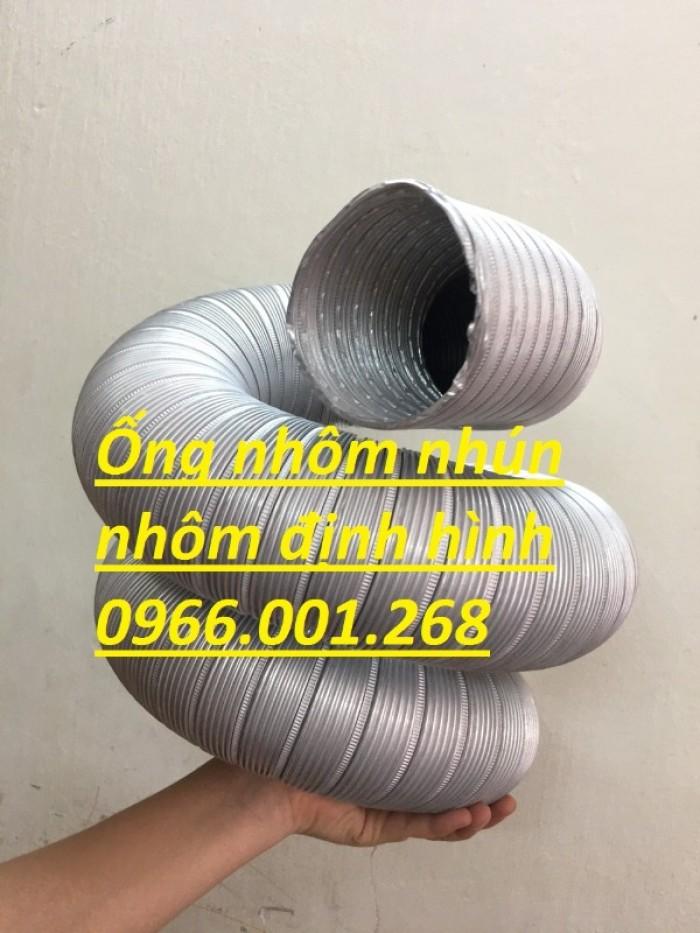 Ống nhôm nhún,ống nhôm cứng chịu nhiệt cao phi 100,phi 125,phi 150,phi 2005