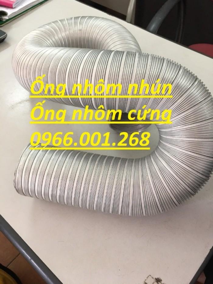 Ống nhôm nhún,ống nhôm cứng chịu nhiệt cao phi 100,phi 125,phi 150,phi 2003