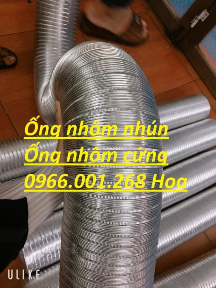 Ống nhôm nhún,ống nhôm cứng chịu nhiệt cao phi 100,phi 125,phi 150,phi 2004