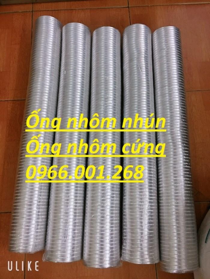 Ống nhôm nhún,ống nhôm cứng chịu nhiệt cao phi 100,phi 125,phi 150,phi 2002