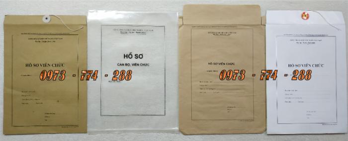 Bán vỏ hồ sơ cán bộ viên chức26