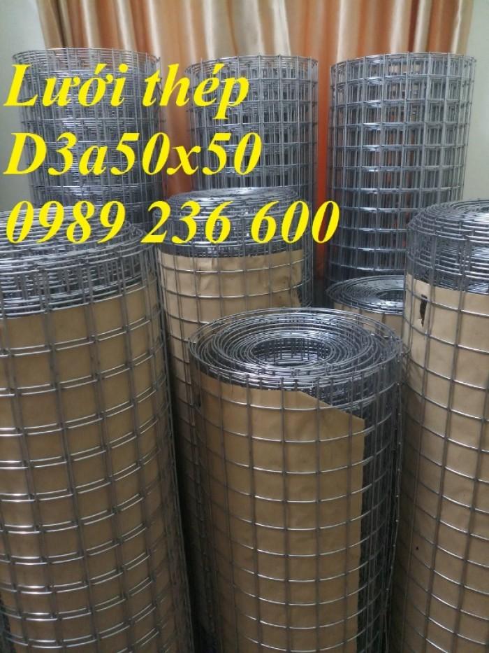 Lưới thép hàn D3 ô 50x50mm1