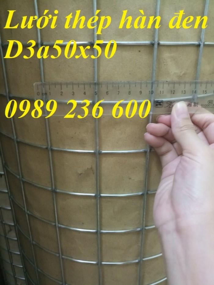 Lưới thép hàn D3 ô 50x50mm2