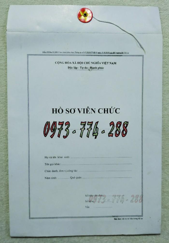 Bìa hồ sơ viên chức29