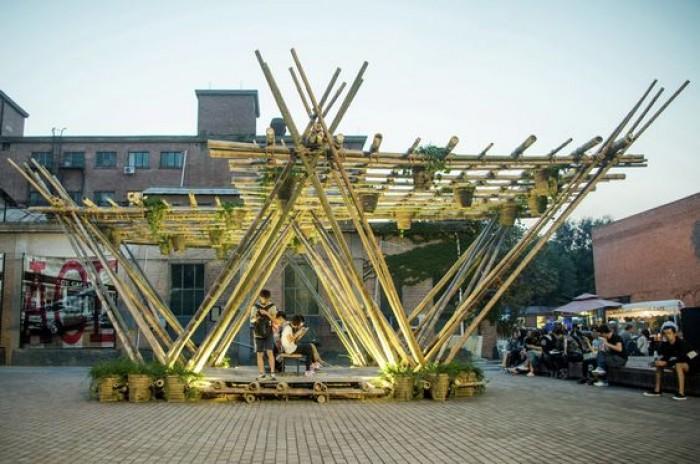 Hình ảnh bìa Mỹ Thuật Tre Việt - Bamboo Việt Art