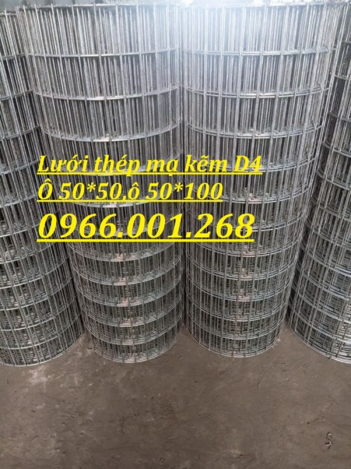 Lưới thép hàn mạ kẽm dây 2ly ô 25x25,2.5 ly ô 35x35,3ly ô 50x50,4ly ô 50*501