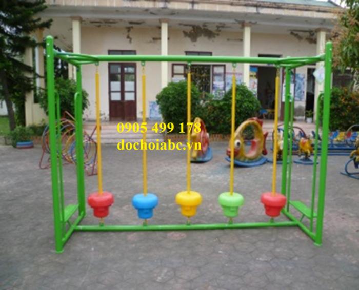 Bộ vận động cầu thăng bằng mầm non cho trẻ mẫu giáo12
