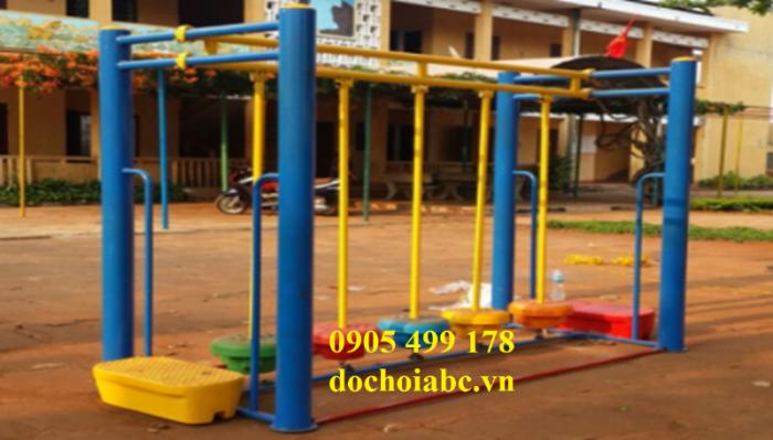 Bộ vận động cầu thăng bằng mầm non cho trẻ mẫu giáo7