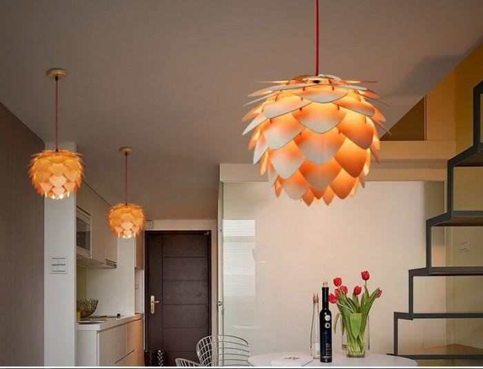 Đèn gỗ hoa lotus Blossom LS 45457