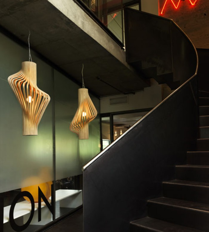 đèn gỗ trang trí đẹp tại HCM18