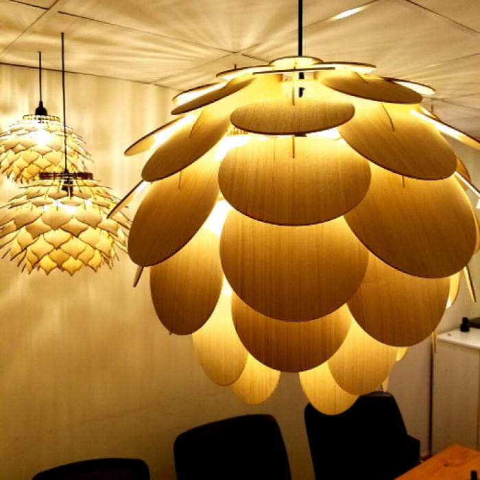 đèn gỗ trang trí đẹp tại HCM 20