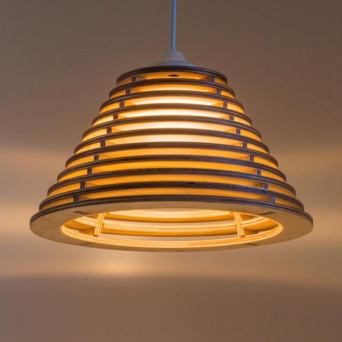 Đèn gỗ thả trần trang trí tại Tp.HCM26