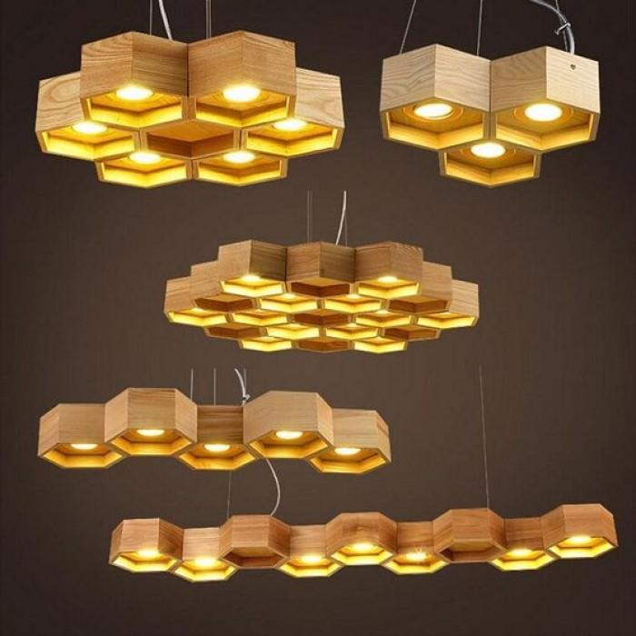 đèn gỗ tổ ong27