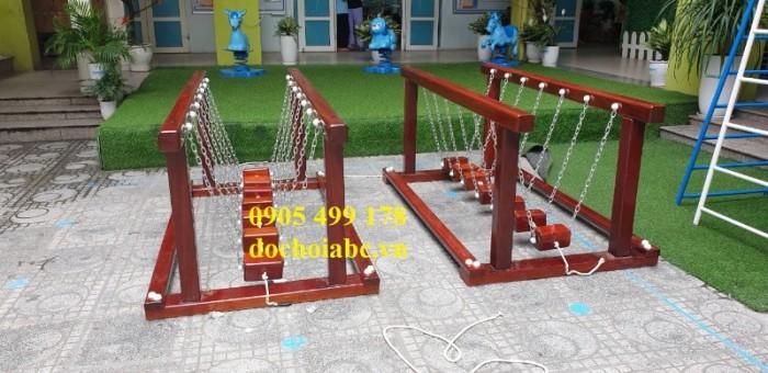bộ cầu giữ thăng bằng cho các khu vui chơi tại đà nẵng, thiết bị mầm non5