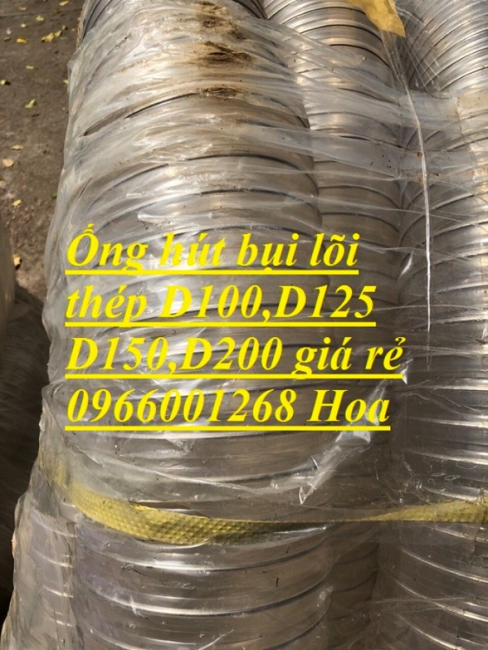 Phân phối ống nhựa lõi thép hút bụi phi 76,phi 100,phi 125,phi 150,phi 2007