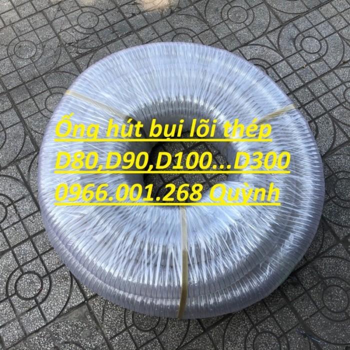 Phân phối ống nhựa lõi thép hút bụi phi 76,phi 100,phi 125,phi 150,phi 2001