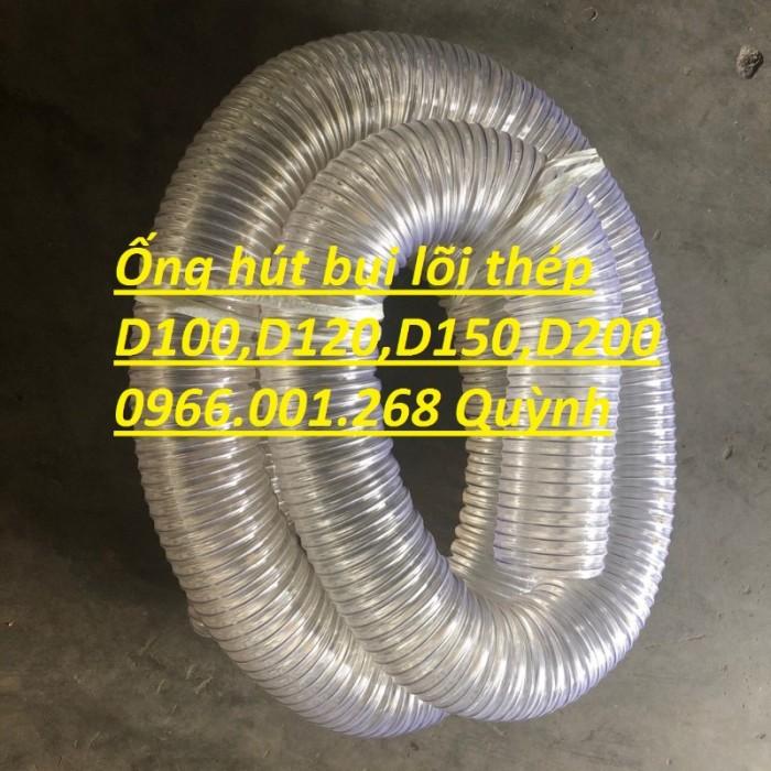 Phân phối ống nhựa lõi thép hút bụi phi 76,phi 100,phi 125,phi 150,phi 2004