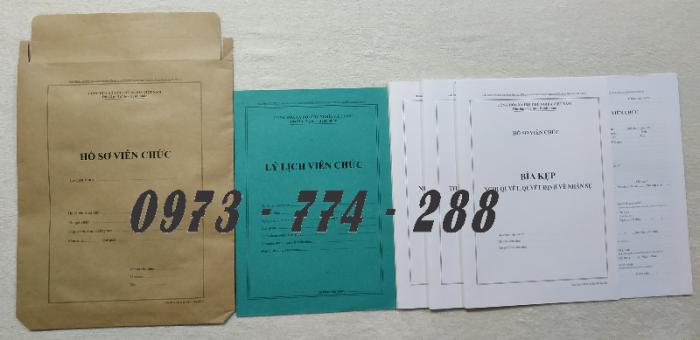 Hồ sơ công chức viên chức22