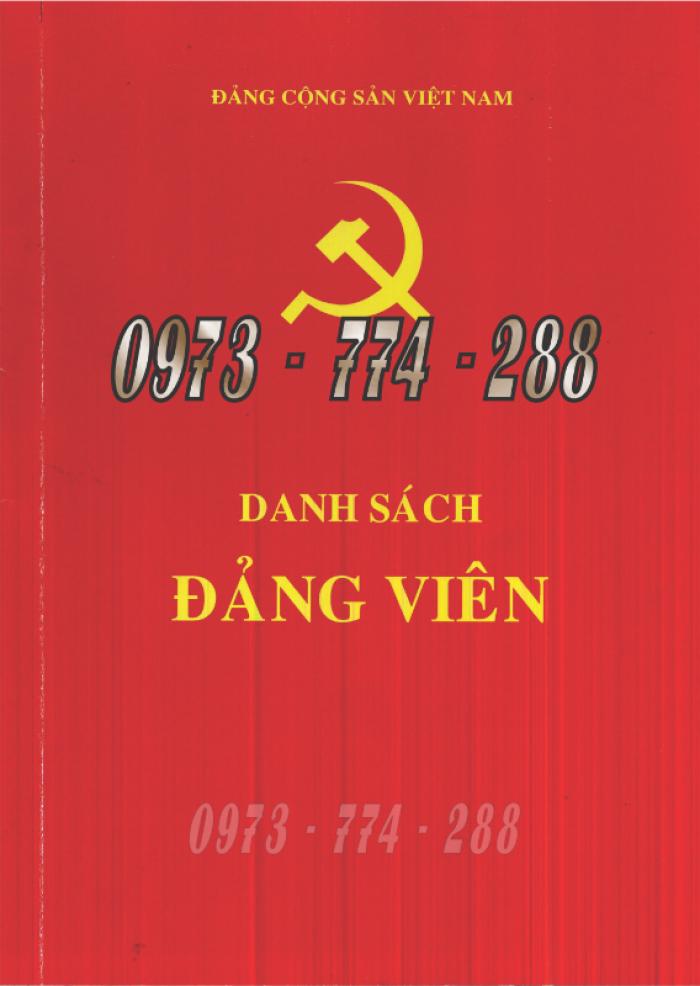 Quyển lý lịch của người xin vào Đảng - Lý lịch Đảng viên21