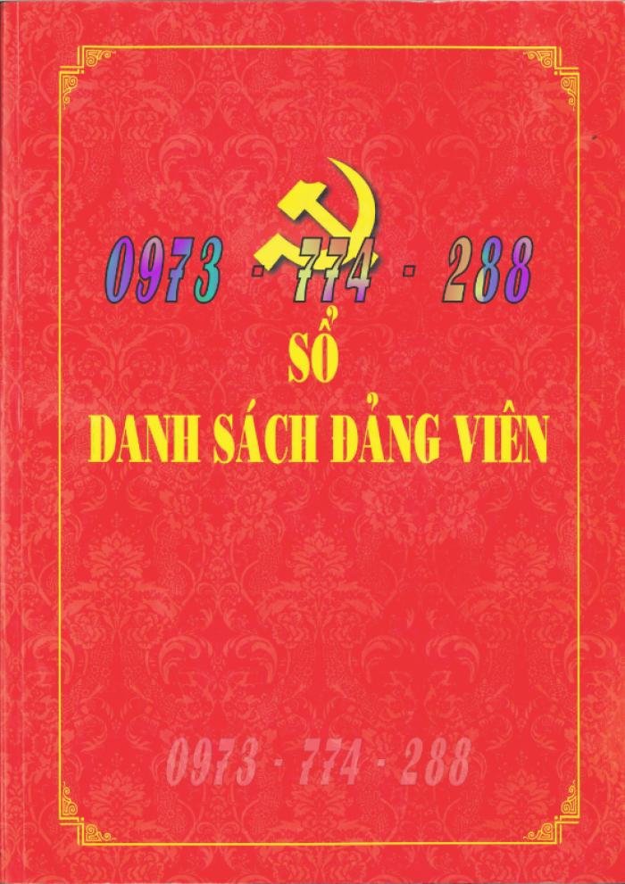Quyển lý lịch của người xin vào Đảng - Lý lịch Đảng viên22