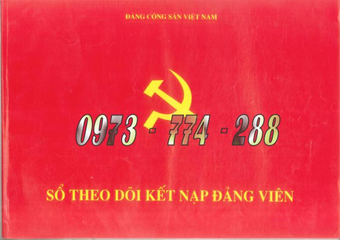 Quyển lý lịch của người xin vào Đảng - Lý lịch Đảng viên23