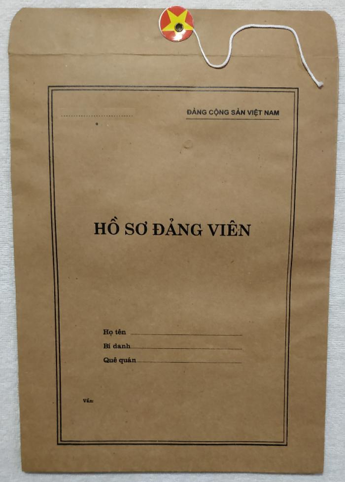 Quyển lý lịch của người xin vào Đảng - Lý lịch Đảng viên31