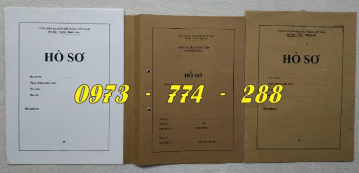 Bì hồ sơ viên chức24