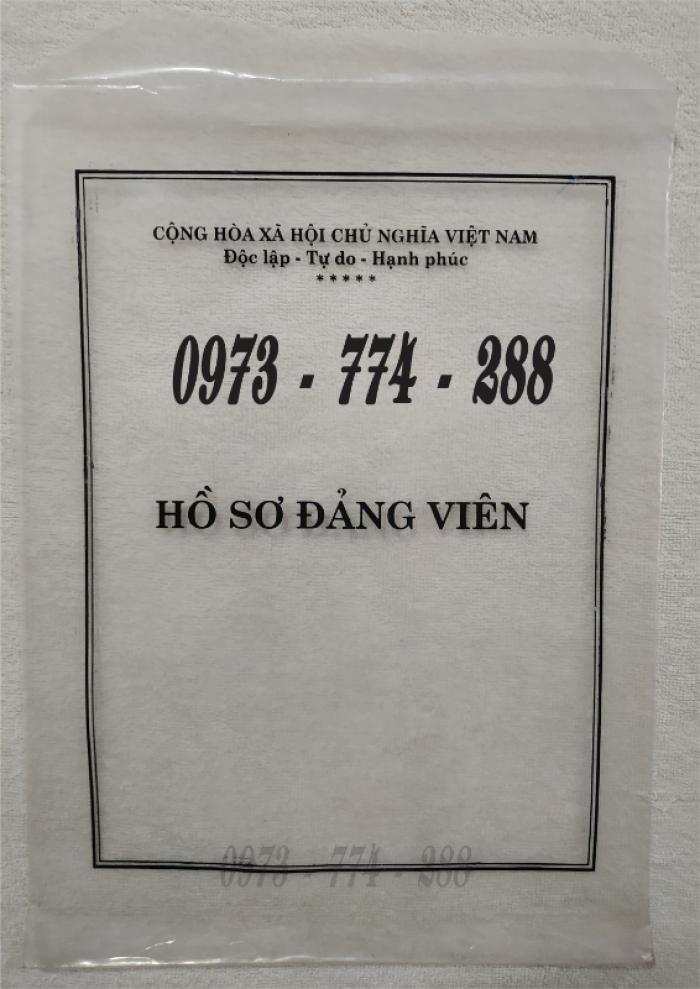 Lý lịch của người xin vào đảng mẫu 2-KNĐ- Lý lịch đảng viên mẫu 1-HSĐV15