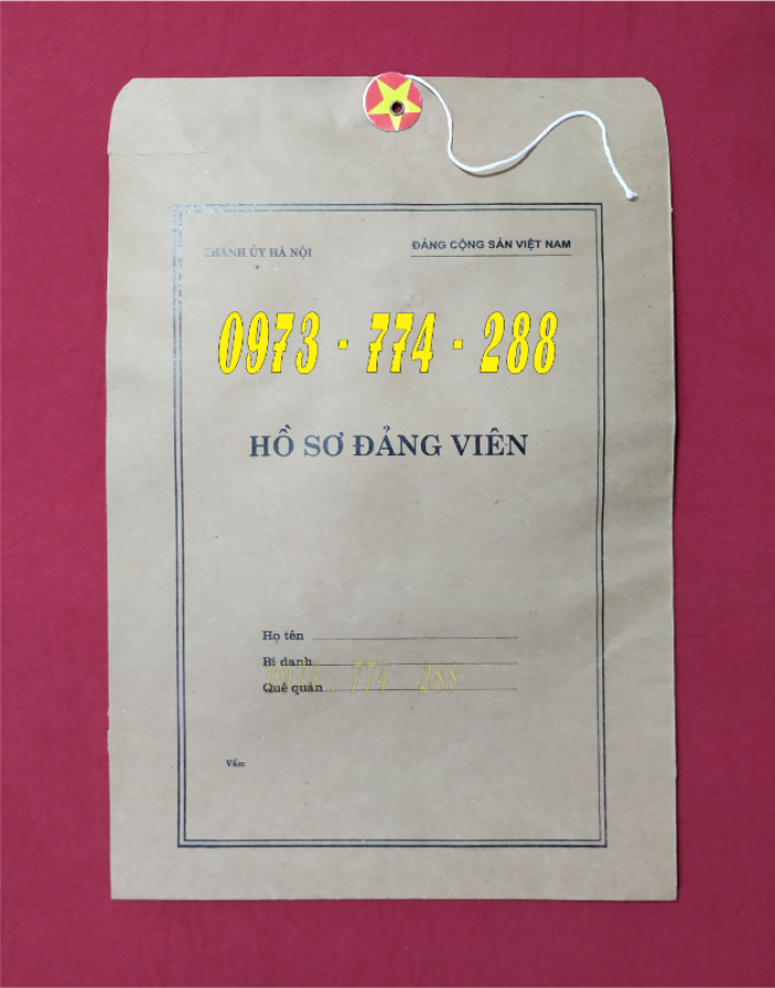 Lý lịch của người xin vào đảng mẫu 2-KNĐ- Lý lịch đảng viên mẫu 1-HSĐV16