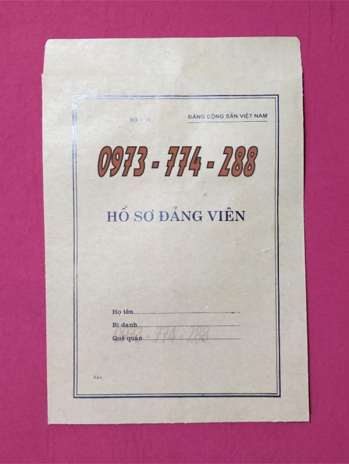Lý lịch của người xin vào đảng mẫu 2-KNĐ- Lý lịch đảng viên mẫu 1-HSĐV17