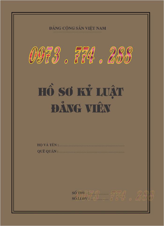 Lý lịch của người xin vào đảng mẫu 2-KNĐ- Lý lịch đảng viên mẫu 1-HSĐV18