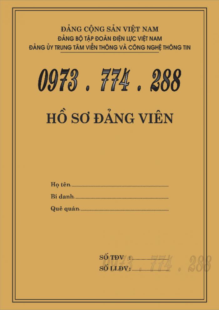 Lý lịch của người xin vào đảng mẫu 2-KNĐ- Lý lịch đảng viên mẫu 1-HSĐV22