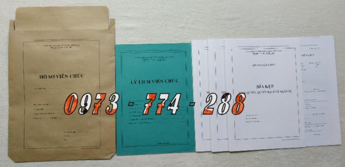 Bộ hồ sơ cán bộ công chức, viên chức, quảng cáo mẫu đẹp chuẩn8